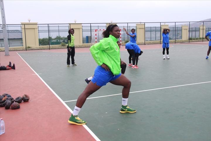 11 mes jeux africains handball f minin pr paration des lionnes indomptables aouaga photos. Black Bedroom Furniture Sets. Home Design Ideas