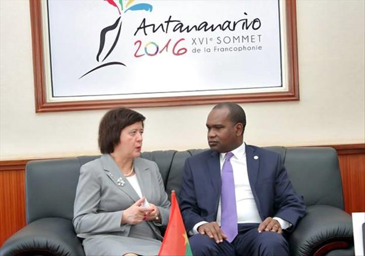 Des rencontres bilat rales en marge du xvie sommet de la for Ministre de l exterieur