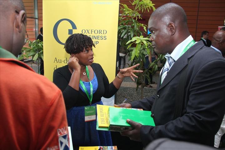 1 re dition de africa agri forum les partenaires et sponsor de l v nement animent des stands
