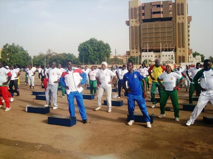 Maison d arret et de correction de ouagadougou une - Seance de sport a la maison ...