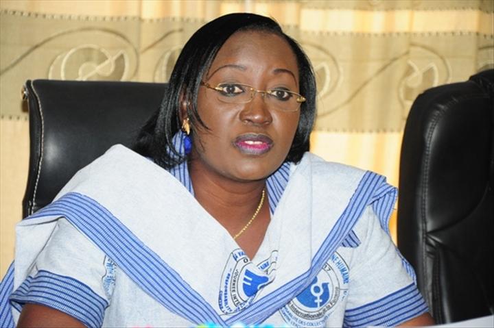 burkina la ministre de la femme plaide pour la protection des droits de la femme. Black Bedroom Furniture Sets. Home Design Ideas