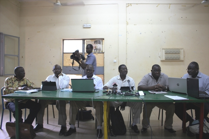 Rencontre gouvernement syndicat au burkina faso