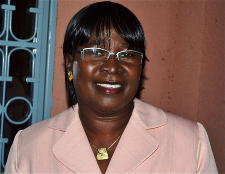 mme affoussiata bamba-lamine  ministre ivoirienne de la communication