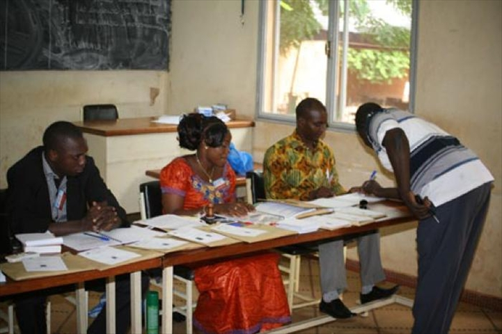 Burkina r sultats provisoires des 3 mes lections for Chambre de commerce internationale arbitrage