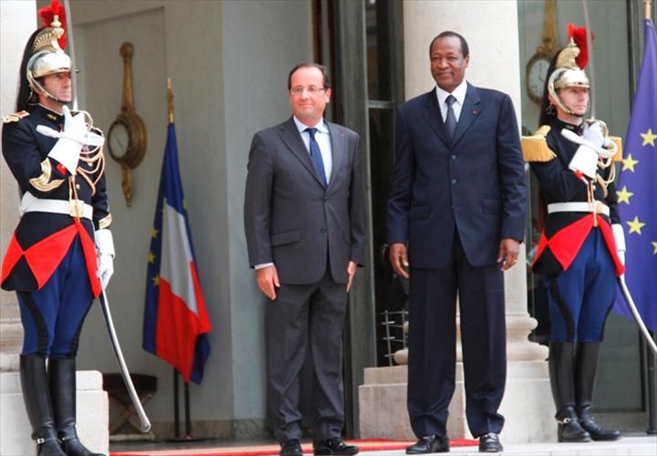 Exclusif : La lettre de François Hollande à Blaise Compaoré