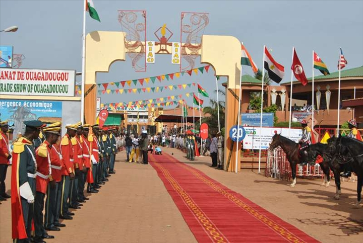 Salon international de l artisanat de ouagadougou c est for Salon de l artisanat valence