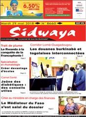journal édition le pays du burkina